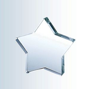 Mystical Star Optic Crystal Award - Small